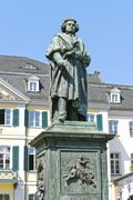 Monument of Ludwig van Beethoven in Bonn - stock photo