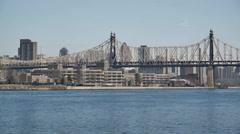 Roosevelt Island MS Stock Footage