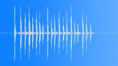 Drumming Fingers On Cardboard Box, V5 Sound Effect