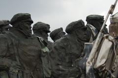 Bela Kun Memorial - Memento Park - Budapest Stock Photos