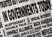 Stock Illustration of government headlines