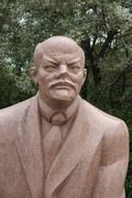 Lenin - Communist Monument - Memento Park - Budapest - stock photo