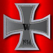 Iron cross Stock Illustration