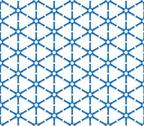 Stock Illustration of blue triangular grid