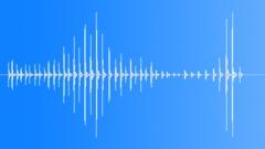 Drumming Fingers On Cardboard Box, V6 Sound Effect