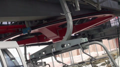 Stock Video Footage of Cable Car technics
