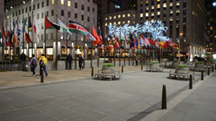 Rockefeller Centre building  Stock Footage