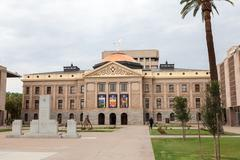 Stock Photo of Arizona State House and Capitol Building, Phoenix