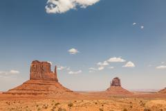 Stock Photo of Monument Valley in southern Utah