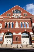 Ryman Auditorium, Nashville, Tennessee - stock photo