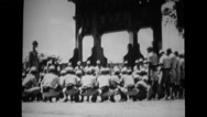 Military soldiers undergoing training Stock Footage