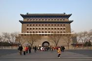 Stock Photo of Qianmen Archery Tower In Beijing