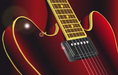 Frets Stock Illustration