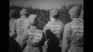 Group of female workers walking Stock Footage