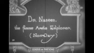 Dr.Nansen The famous Aretie Explorer from Norway at the assembly Stock Footage