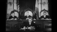 Judge speaking in supreme court Stock Footage