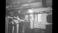 PM-1 plant control panel Stock Footage