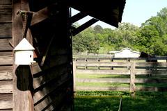Horse Ranch Barn - stock photo