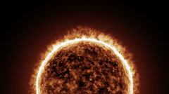 A trip to the sun Stock Footage