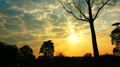 Sunrise Time Lapse2 Stock Footage