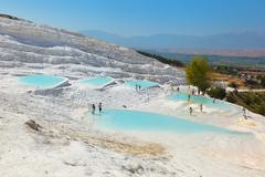 Pamukkale Turkey - stock photo