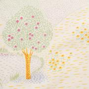 batik cloth fabric - stock photo