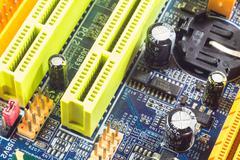 Computer mainboard Stock Photos