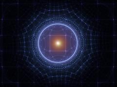 Geometric Grid - stock illustration