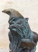 Wroclaw Krasnale (Dwarves) - Kowal (Smith) - stock photo