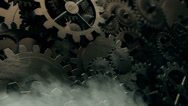 Stock Video Footage of Cogwheels Gear Seamless Background Loop