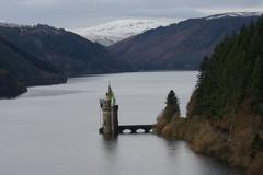 Lake Vyrnwy Stock Photos