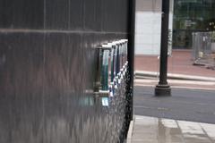Manchester: Modern Water Feature Stock Photos