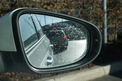 Keskisuuret Auto: Ulkoinen - sivupeilin Kuvituskuvat