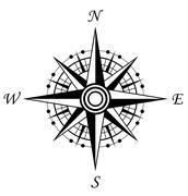 compass symbol - stock illustration
