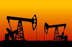 öljykenttä Piirros