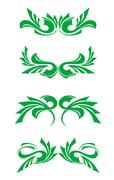 Stock Illustration of flourishes decorations
