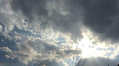 Cotton clouds of the sky 7 Stock Footage