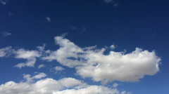 Cotton clouds of the sky 14 Stock Footage