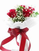rose bouquet - stock photo