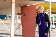 Posing woman Stock Photos
