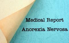Stock Photo of anorexia nervosa