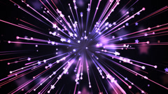 Stars and Streaks Night Background - stock footage