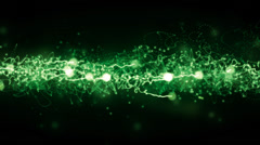 Green Magic Background Stock Footage