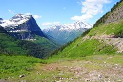 Mountain pass Stock Photos