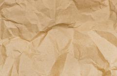 Stock Illustration of old crushed paper background