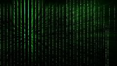 Matrix Effect 04 Data Stream 4k Stock Footage