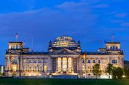 Stock Photo of reichstag in berlin