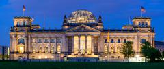 Stock Photo of reichstag building in berlin