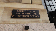 Environmental Protection Agency (EPA) building Stock Footage