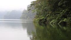 Lake Balinsasayao in Dumaguete on Negros Island, Philippines Stock Footage